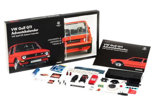 Franzis 55102-3 Adventskalender VW Golf GTI Inhalt 2