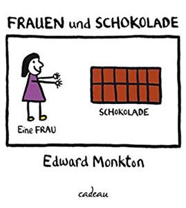 """Buch """"Frauen und Schokolade"""" von Edward Monkton"""
