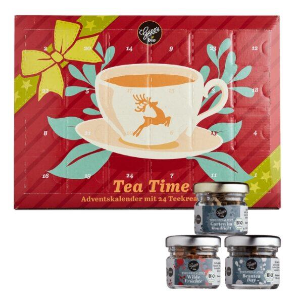 Gepp's Tea Time 2021 Inhalt
