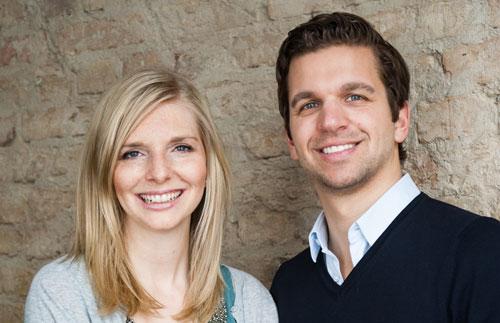 Die Gründer von Amorelie Lea-Sophie Cramer und Sebastian Pollok