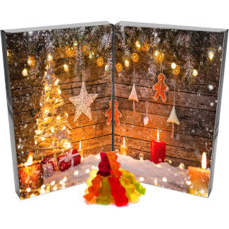 amazon Hallinger Fruchtgummi Adventskalender