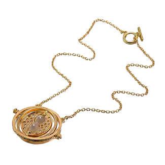 Harry Potter Füllidee Halskette Zeitumkehrer Hermine Sandanhänger mit Sanduhr