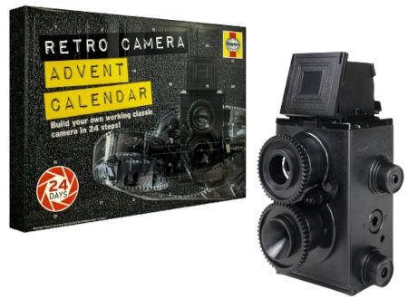 Inhalt Haynes DIY Retro Camera Adventskalender