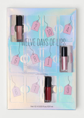 h&m Twelve Days of Lips Adventskalender 2018 Inhalt