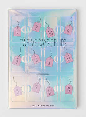 h&m Twelve Days of Lips Adventskalender 2018
