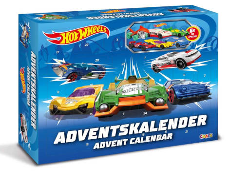 amazon Hot Wheels 13908 Adventskalender