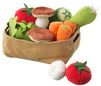 Ikea Gemüse für Kleinkinder