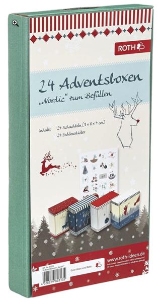 diy Adventsboxen Set Im Nordic-Design