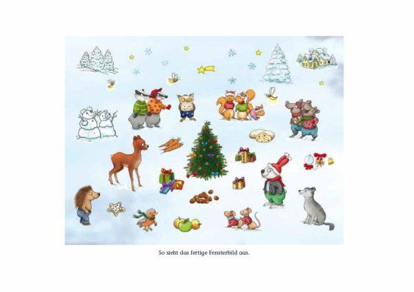 Ein Weihnachtsbaum für die Tiere Inhalt