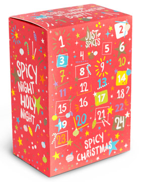 Just Spices Adventskalender 2017 - small - der Kleine