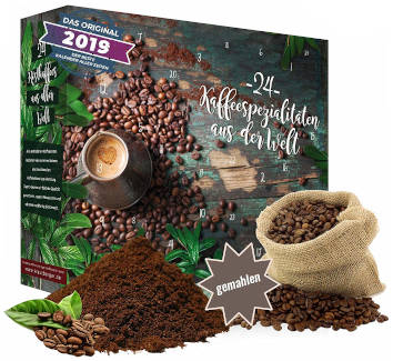 Broxiland Kaffee Adventskalender