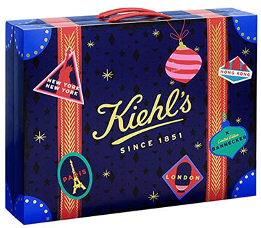 Kiehl's Adventskalender 2018 Bannecker blau