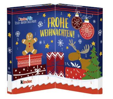 Schokolade Ferrero Kinder Mix Tisch Adventskalender 2019