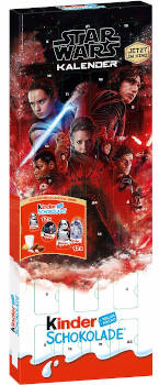 Kinder Schokolade Star Wars Adventskalender 2017