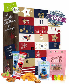 Gesunde Snacks Kinder Adventskalender 2019
