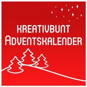 KreativBunt Adventskalender Bastelmaterial