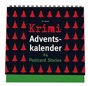Krimi Adventskalender 24 Postkarten