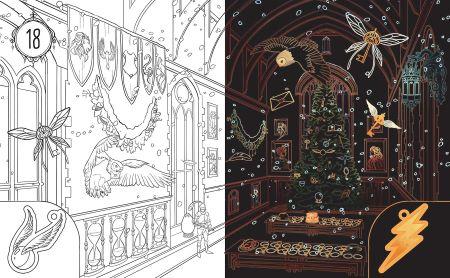 Kritzel-Kratzel Adventskalender: Harry Potter Inhalt 3