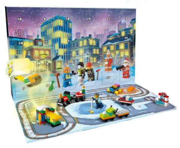 LEGO City Adventskalender 2021 Inhalt 1