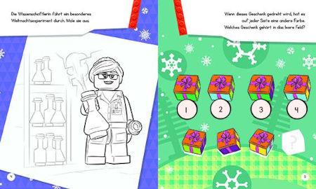 Lego Adventskalender: Mit 24 Rätselüberraschungen Inhalt 1