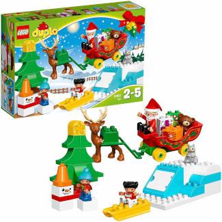 Lego Duplo Winterspaß mit dem Weihnachtsmann