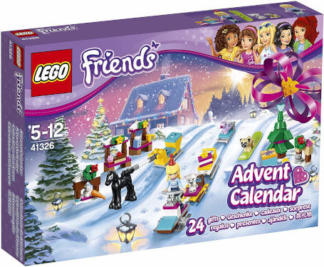 Lego Friends Adventskalender 2017