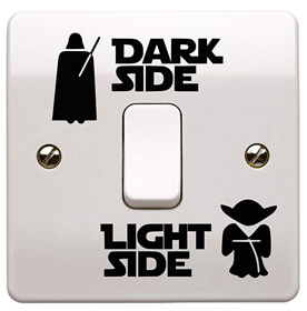 LICHTSchalter Star Wars Dark Side Light Side