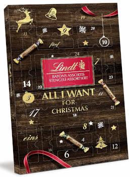 Schokolade Lindt Batond Adventskalender