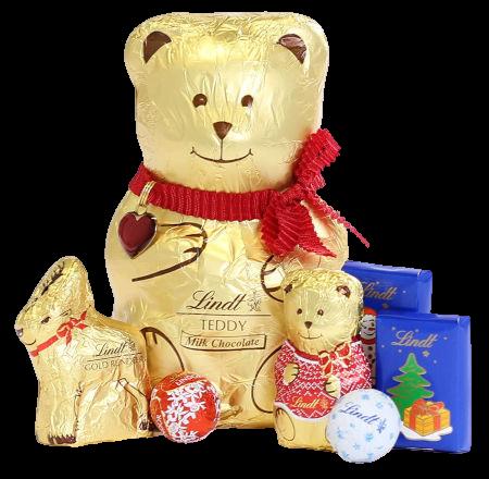 Inhalt Lindt Bear Advent Calendar