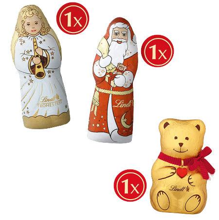 Inhalt Lindt Weihnachts-Tradition Adventskalender