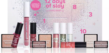 "Lottie Londen ""12 Days of Slay"" Adventskalender 2018 Inhalt"