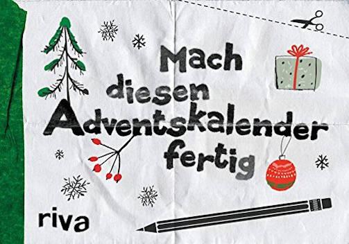 Buch Adventskalender Kreativ: Mach diesen Adventskalender fertig