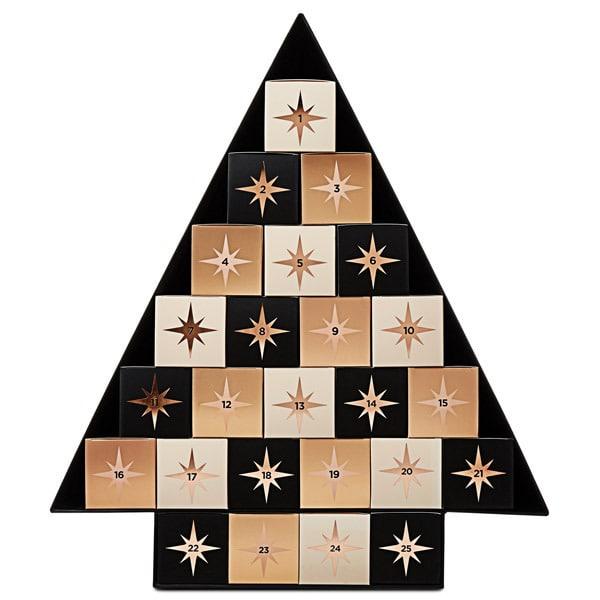 Make Up Weihnachtskalender.Makeup Revolution Christmas Tree