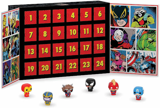Funko Marvel Pocket Pop Adventskalender 2019