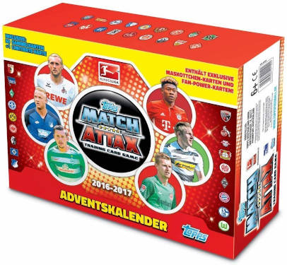 Match Attax Adventskalender 2016
