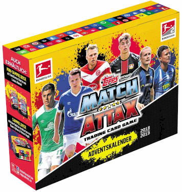 Match Attax Adventskalender 2018