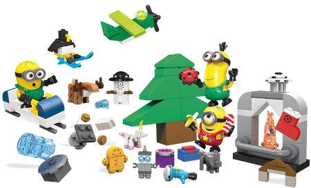 Inhalt Mattel Mega Blocks Minions Movie Advent Calendar