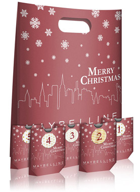 Maybelline Do it yourself Adventskalender 2018