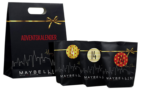 Maybelline Adventskalender 2017 New York - Do it yourself