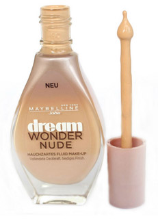 maybelline dream wonder nude make-up 030 sand