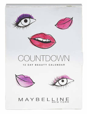 Maybelline Countdown Adventskalender