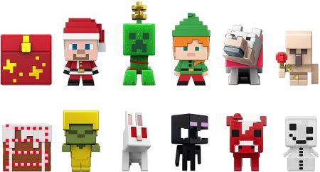 Minecraft Mini-Figuren Adventskalender Inhalt