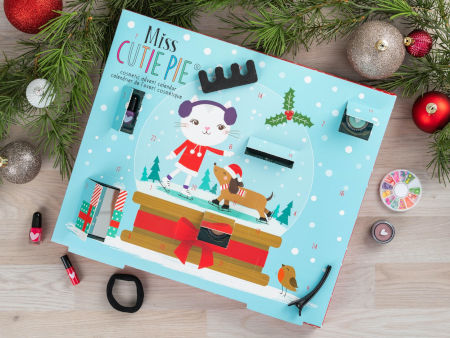Inhalt Miss Cutie Pie Schminke Adventskalender