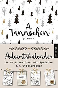 Mynotes A Tännschen Please Adventskalender