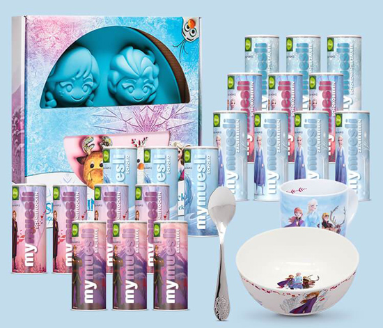 mymuesli Eiskönigin Adventskalender Disney Inhalt