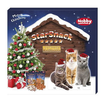 Katzen Adventskalender Snacks 2017