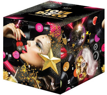 NYX love lust disco professional Makeup Adventskalender 2019
