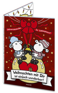 Paar-Adventskalender Sheepworld 2017