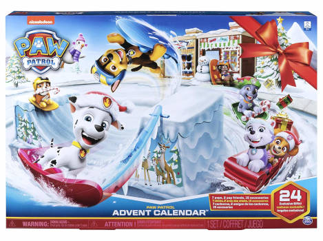 amazon Paw Patrol Adventskalender 2019