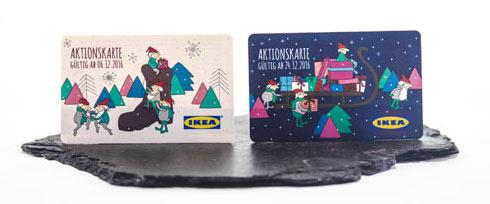 Gutschein - Ikea Adventskalender 2016 - Aktionskarten